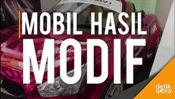 100 Mobil Hasil Modif Dipamer di Bandung