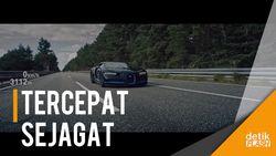 Wuzz... Mobil Tercepat Sejagat dari Bugatti Diperkenalkan