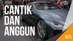 Anggunnya Mobil Konsep BMW Seri 8 Ini