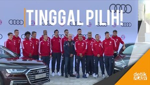 Asyik! Pemain Bayern Munich Bebas Bawa Pulang Mobil Sponsor