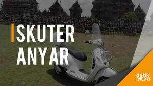Penampakan Skuter Rp109 Juta, Vespa GTS 300