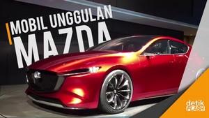 Nih! Mobil yang Unjuk Gigi di Booth Mazda