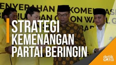 Dukung Ridwan Kamil, Setnov: Kami Ingin Menang