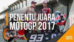 Raja MotoGP 2017, Marquez atau Dovi?