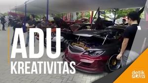 Aneka Mobil Modifikasi Dipamerkan di Pekanbaru