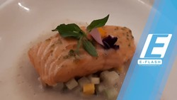Chef Degan Sajikan Salmon Lodeh di Starry Nights