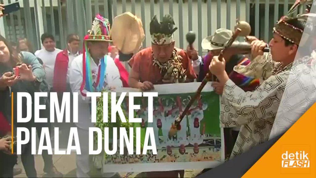 Dukun Peru Guna-gunai Selandia Baru Jelang Play-Off