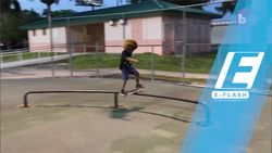 Aksi Keren Bocah 8 Tahun Main Skateboard