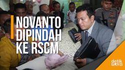 Riuh! Inilah Momen Saat Novanto Mau Dipindah ke RSCM
