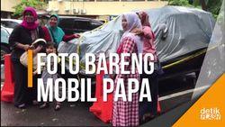Cekrek! Mobil Nahas Novanto Jadi Sasaran Foto Emak-emak