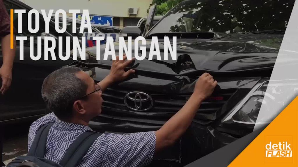 Pihak Toyota Turun Tangan Cek Kondisi Mobil Nahas Novanto