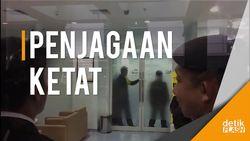 Situasi Pengamanan Novanto di Klinik Eksekutif RSCM Kencana
