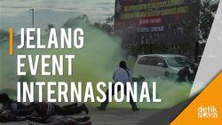 Serangan Teroris Simulasi di Bali Berhasil Dilumpuhkan