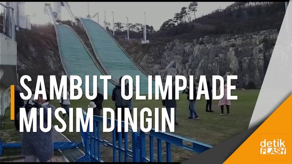 Pyeongchang Bersolek Jelang Olimpiade Musim Dingin 2018