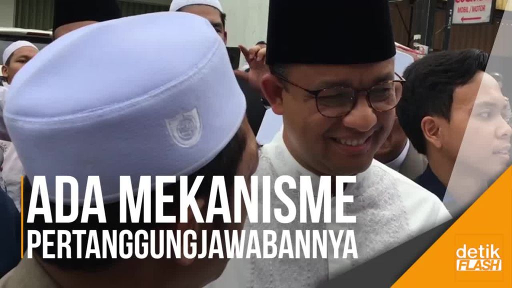Tunjangan RT/RW Naik, Anies Minta Jangan Negative Thinking