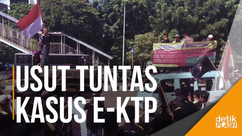 Novanto Ditahan, Dukungan Mengalir Deras untuk KPK