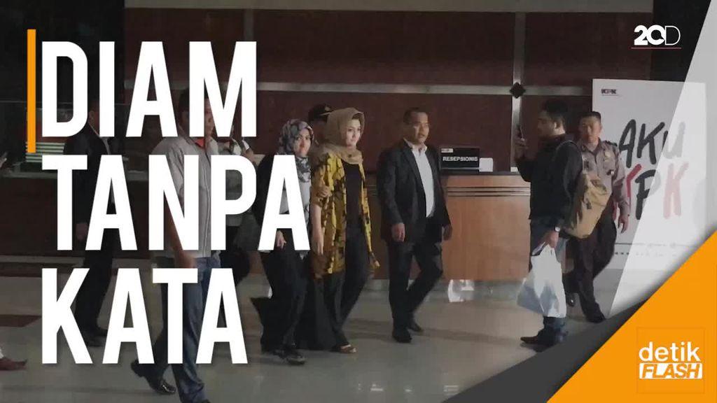Usai Diperiksa KPK, Istri Novanto Diam Seribu Bahasa