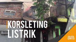 Kebakaran Rumah dan Toko Material di Matraman