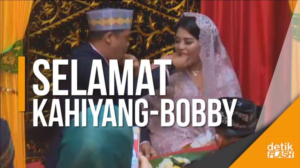Doa ke Kahiyang-Bobby Usai Kahiyang Menyandang Boru Siregar