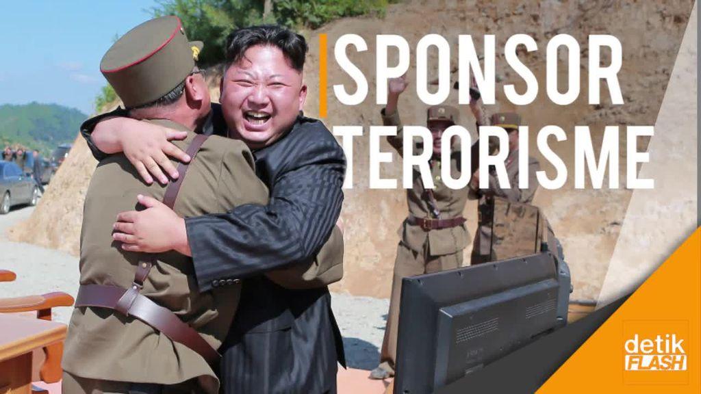 AS Masukkan Korut Sebagai Negara Sponsor Terorisme