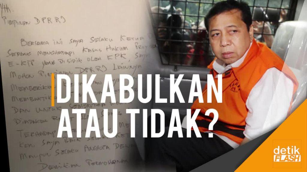 Tanggapi Surat Permohonan Novanto, MKD: Bisa Dikabulkan, Bisa Tidak