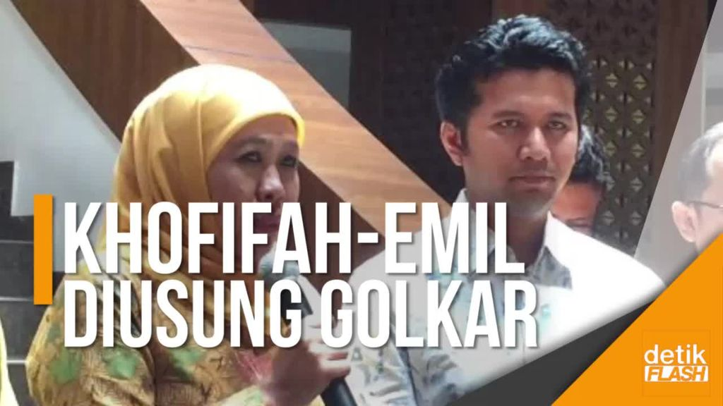 Golkar Resmi Usung Khofifah-Emil Dardak di Pilgub Jawa Timur