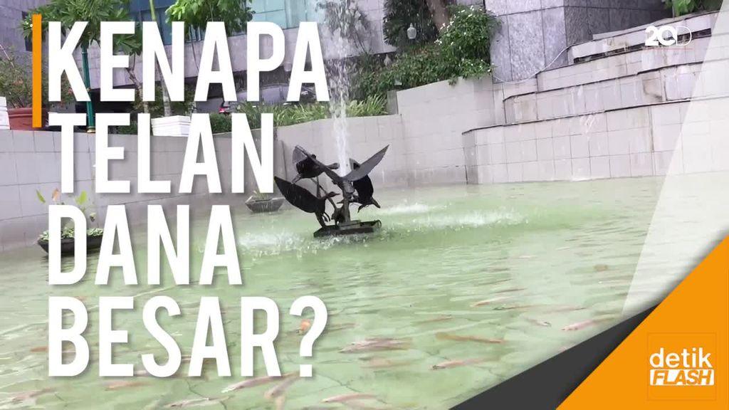 Bang Sandi, Rehab Kolam DPRD Kok Sampai Telan Dana Rp 620 Juta?