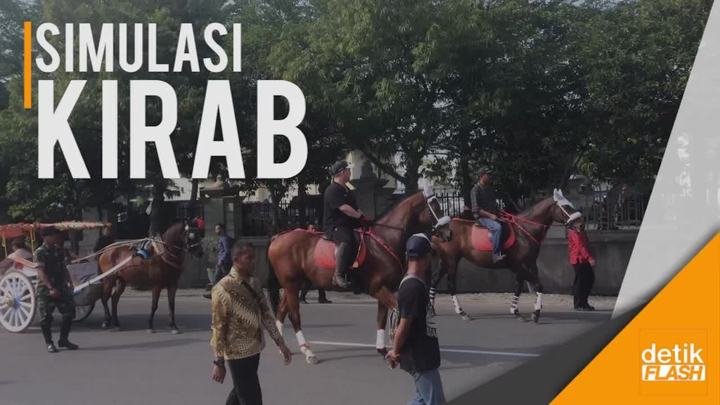 Serba-serbi Simulasi Kirab Kahiyang-Bobby di Medan