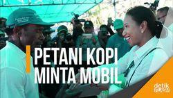 Saat Petani Kopi di Puncak Jaya Minta Mobil ke Menteri Rini