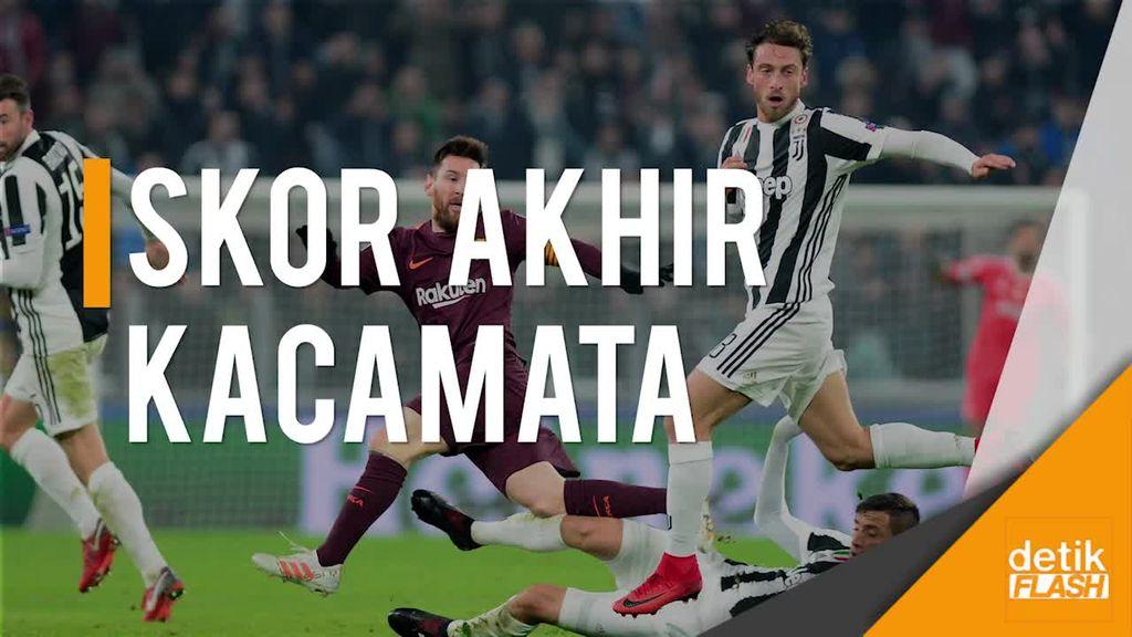 Messi Tak Jadi Starter, Barca Cuma Imbang Lawan Juventus
