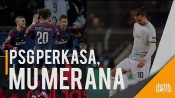 PSG Hancurkan Celtic, MU Takluk dari Basel
