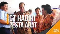 Chairul Tanjung Hadiri Acara Adat Kahiyang-Bobby