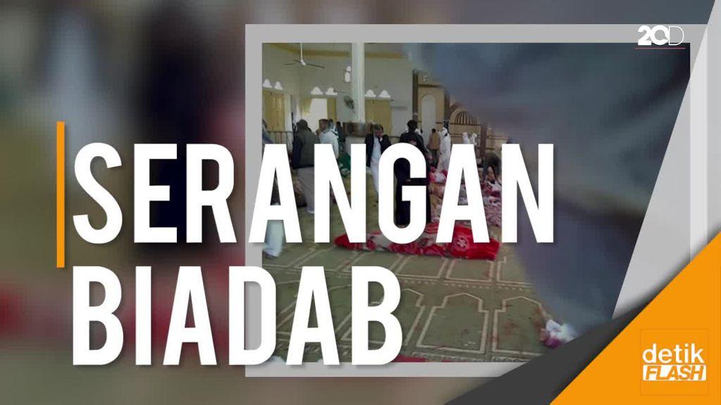 Teroris Serang Masjid, 184 Jemaah Salat Jumat Tewas