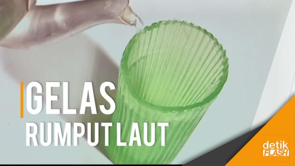 Wow! Gelas Bikinan Anak Indonesia Ini Bisa Dimakan