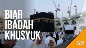 Jemaah... Kini Selfie di Depan Kakbah dan Masjid Nabawi Dilarang!