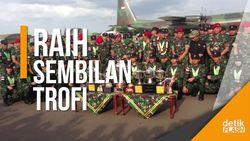 Salut! TNI AD Kembali Juara Umum Lomba Tembak AARM