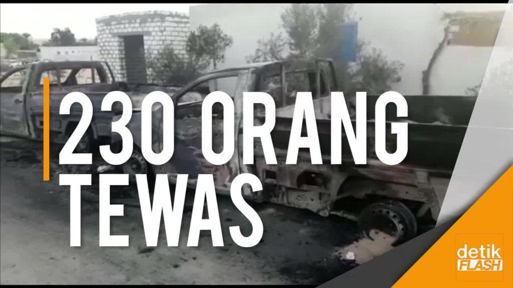 Saksi Ceritakan Kengerian Teror di Masjid Mesir