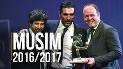 Buffon Jadi Pemain Terbaik Serie A Musim Lalu