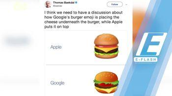 Ramai Diprotes Netizen, Google Pe   rbaiki Emoji Cheese Burger