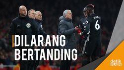 Man United Putuskan Tidak Naik Banding Sanksi Pogba