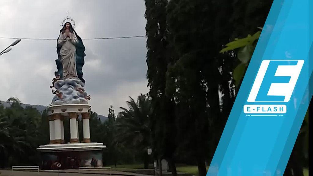 Patung Maria Assumpta Jadi Ikon Wisata Religi Baru