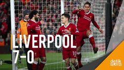 Liverpool Pesta Gol, 5 Klub Inggris Lolos ke 16 Besar