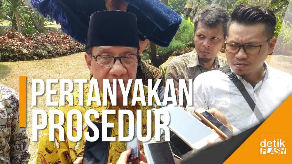 Akbar Tanjung Pertanyakan Keabsahan Novanto Tunjuk Aziz Syamsuddin
