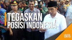Isi Percakapan Jokowi dengan Mahmoud Abbas