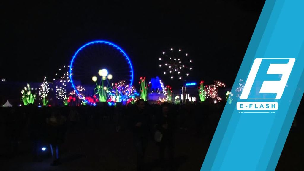 Festival Lampu di Prancis yang Meriah dan Penuh Warna