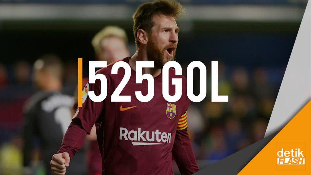 Messi Samai Rekor Gol 40 Tahun