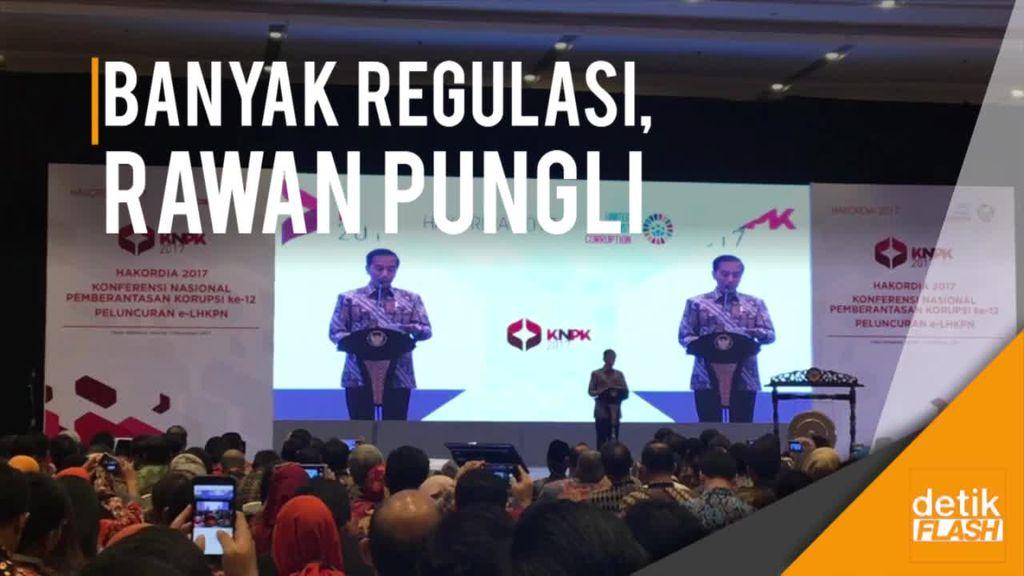 Jengkelnya Jokowi soal Banyaknya Regulasi Tak Jelas
