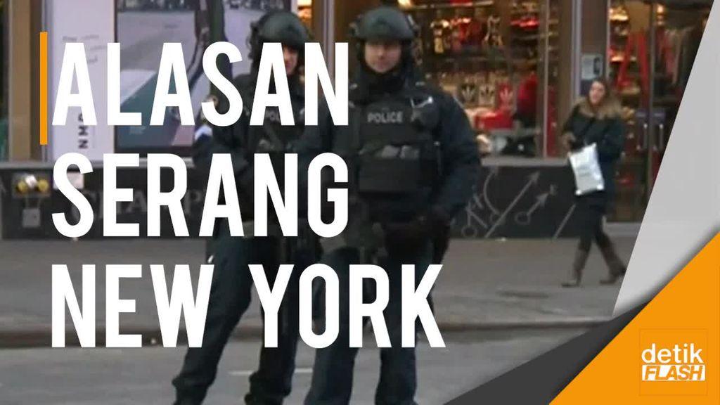 Inilah Identitas Pelaku dan Motif  Peledakan di New York