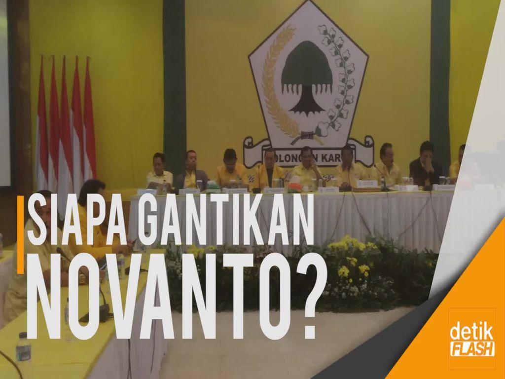 Dakwaan Novanto Dibacakan, Golkar Gelar Rapat Pleno