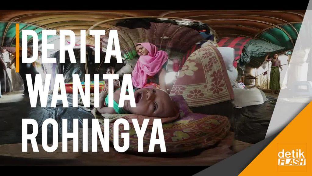 Kisah Mengerikan Dialami Wanita Rohingya